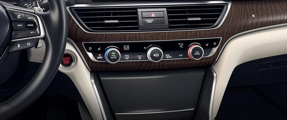 2018 Honda Accord Climate Control