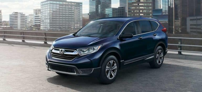 2019 Honda CR-V LX Header