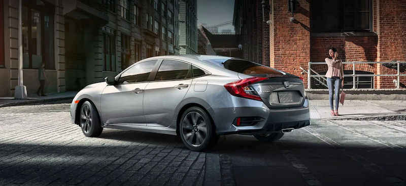 2019 Honda Civic exterior rear view