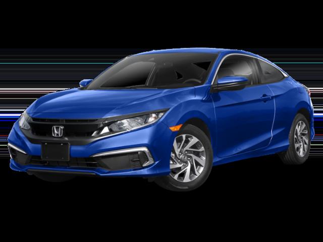 Blue 2019 Honda Civic