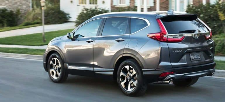 Honda CR-V Driving On Street