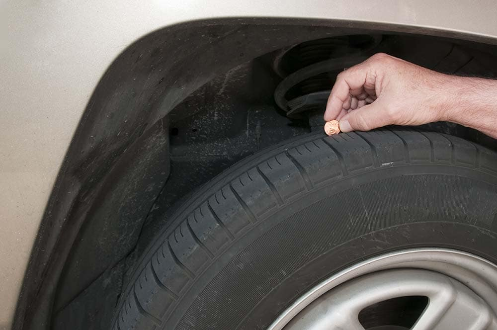 penny test for tire tread