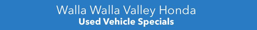Walla Walla Used Specials
