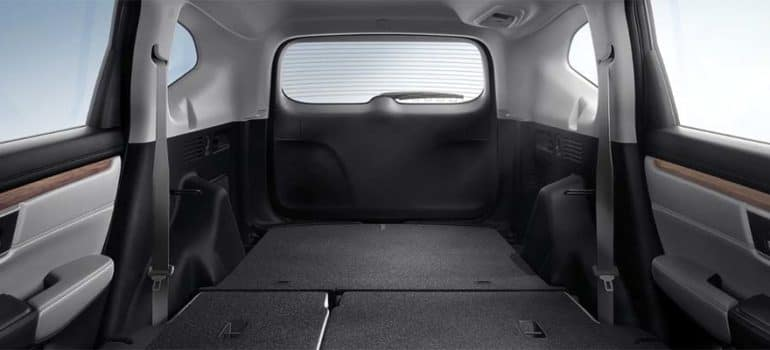 2020 honda cr-v cargo space