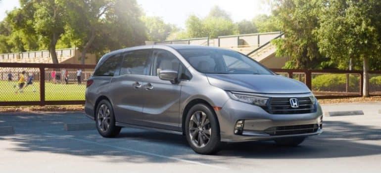 2021 Honda Odyssey At Park