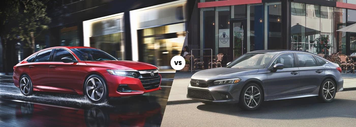 Honda Accord vs Honda Civic