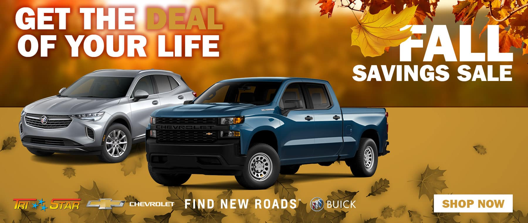 Fall Savings Sale on New Inventory
