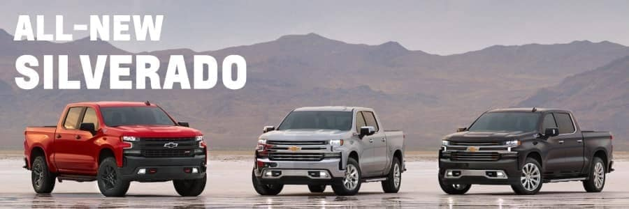 2019 Chevrolet Silverado 1500 trim options
